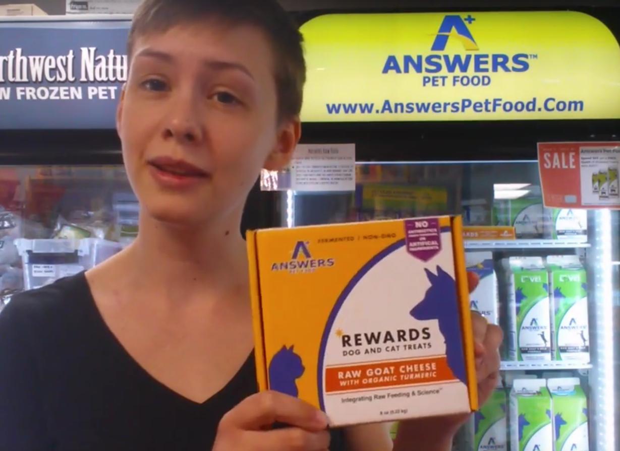 Answers Brand New Rewards Treats